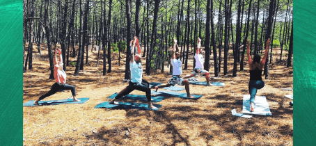 Yoga and sea