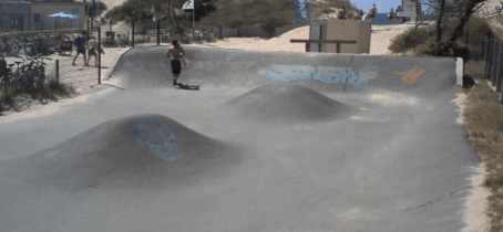 Skatepark de Soulac sur Mer