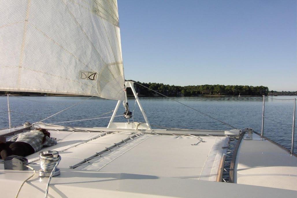 Sortie guidée-Mahi Mahi-Lacanau-catamaran