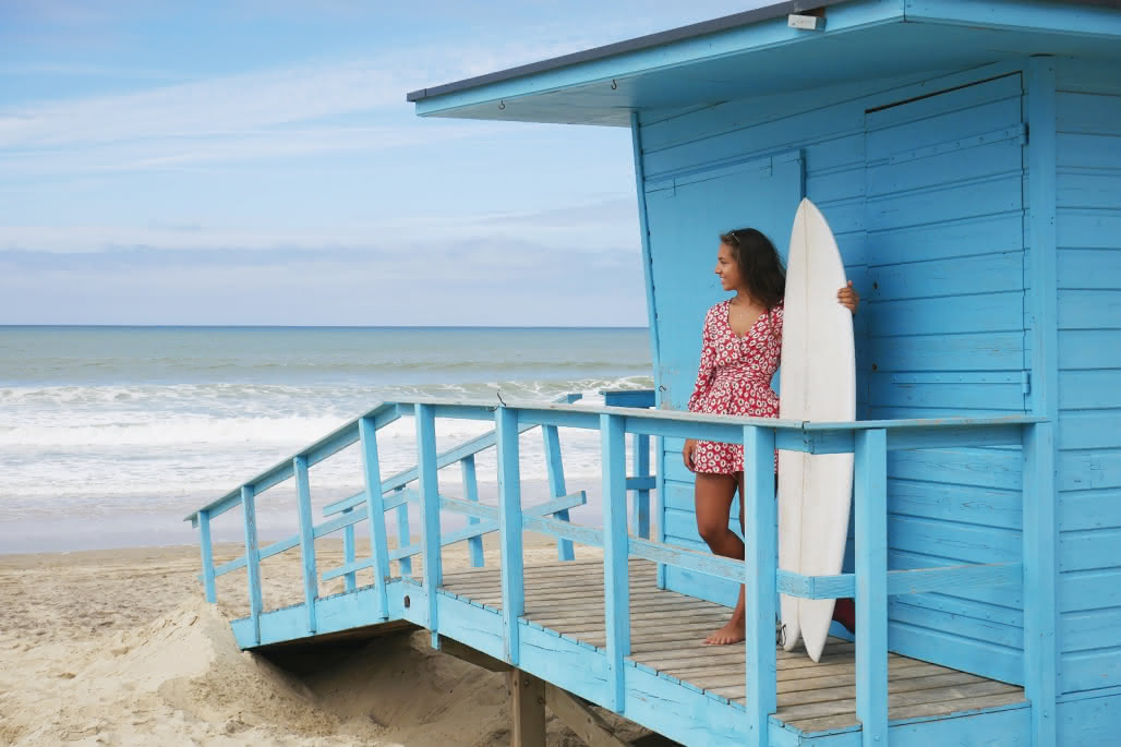 Calibornie bordelaise Vendays-Montalivet plage