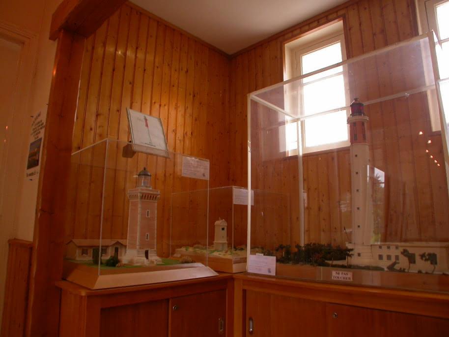 Musée phare de Cordouan- Salle maquettes