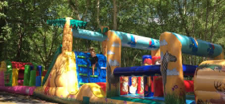 Parcours Gonflables & Trampoline 2