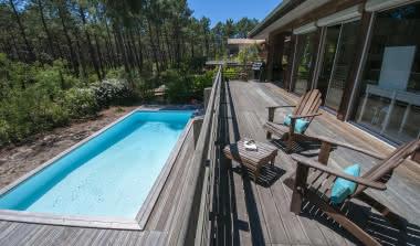 Villa pinède piscine golf PINEDE BAGANAIS1